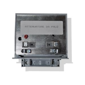 attenuatore di segnale regolabile di 20 db per segnale tv terrestre in versione da palo