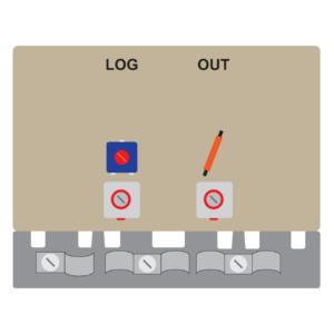 amplificatore per antenna log a 1 transistor