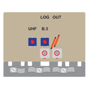 amplificatore per antenna log a 2 transistor