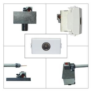 vimar plana - presa antenna tv femmina terminale - prodotto compatibile