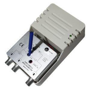 amplificatore di linea da 24db a 2 uscite