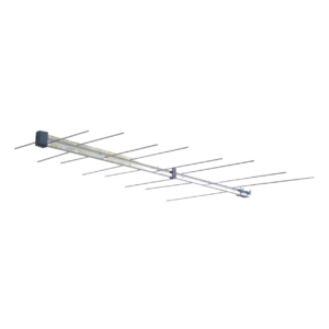 antenna logaritmica a 8 elementi di banda iii per ricezione segnali in vhf