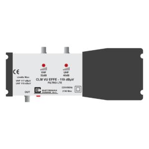 centralino antenna tv per impianti centralizzati a 2 ingressi