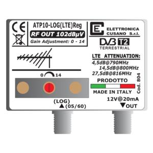 amplificatore antenna con 2 uhf e un ingresso vhf miscelato da 10db
