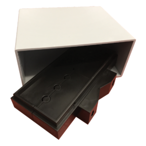 scatola per ampliificatori di antenna a morsetto serie CLP