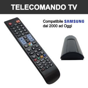 telecomando universale per tv di marca samsung già pronto all'uso